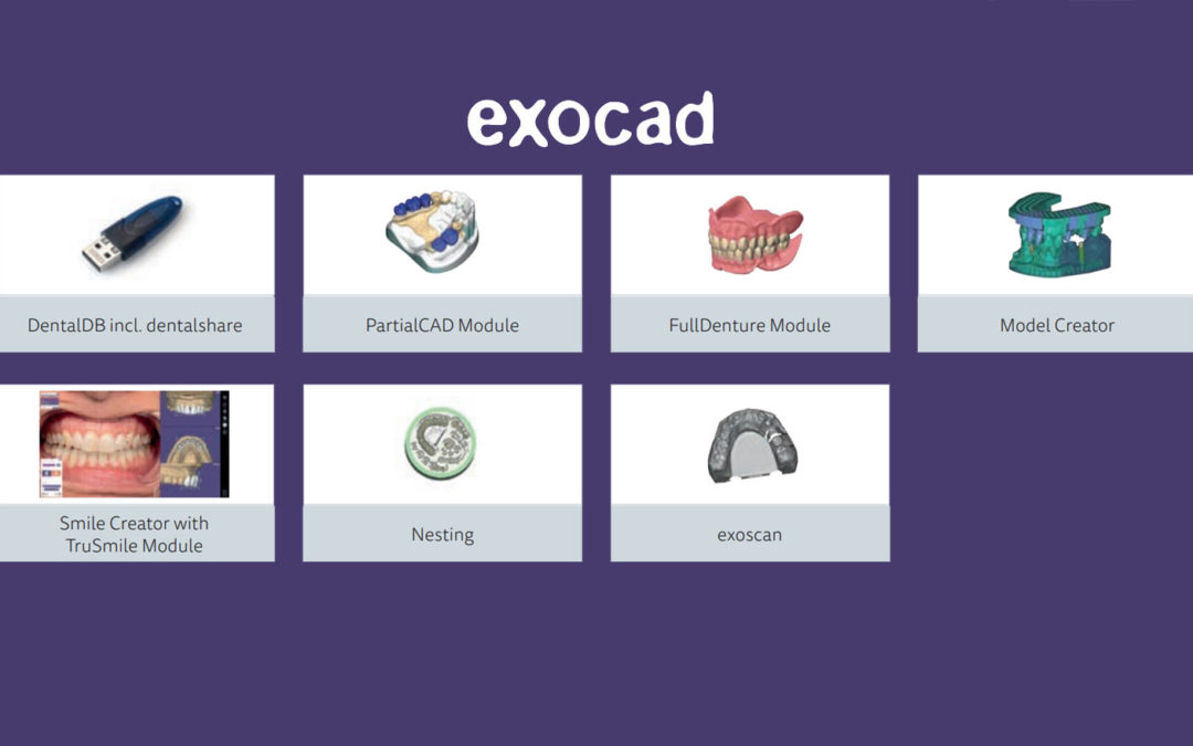 EXOCAD – autonomiczne moduły już dostępne