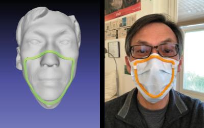 Maski ochronne dopasowane do twarzy