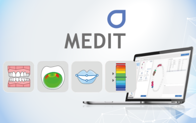 Nowe aplikacje Medit dla skanerów wewnątrzustnych