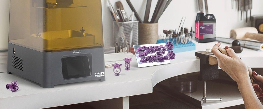 Phrozen Wax-Like do odlewów – Violet