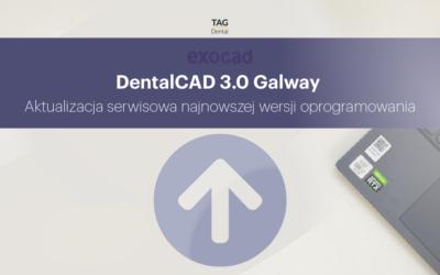 Zaktualizuj swoją najnowszą wersję exocad 3.0 Galway